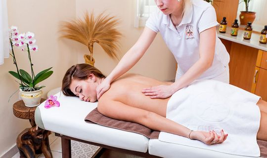 Massages and body treatments - Orchidea Hotel Lipót
