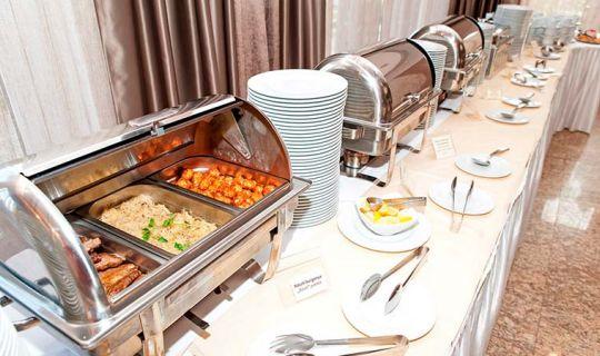 Buffet lunch and dinner - Orchidea Hotel Lipót